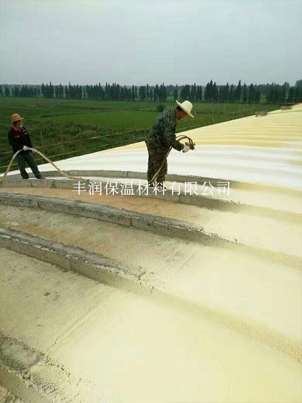 有彩票计划网站扬子洲城新农场粮仓屋面保温工程